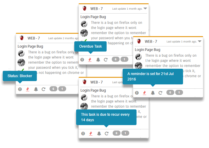 View Key Information Directly from the Kanban Board