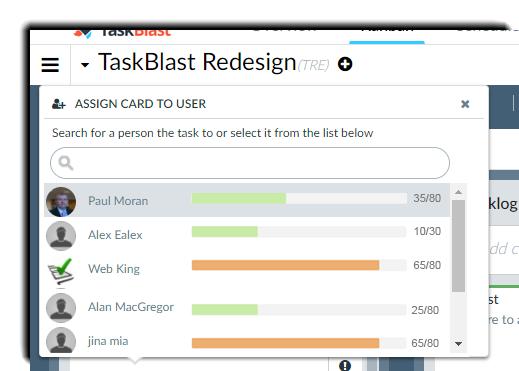 Resource Management Assigning Tasks